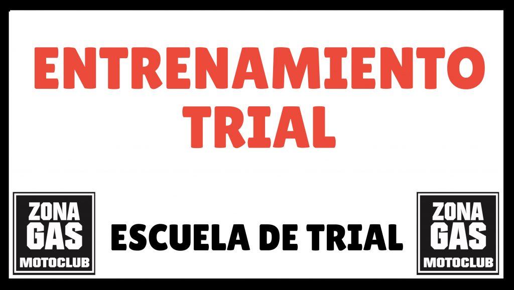 Entrenamiento trial